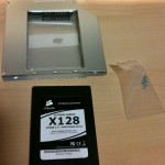 SSD Drive and Slimline sata drive caddy